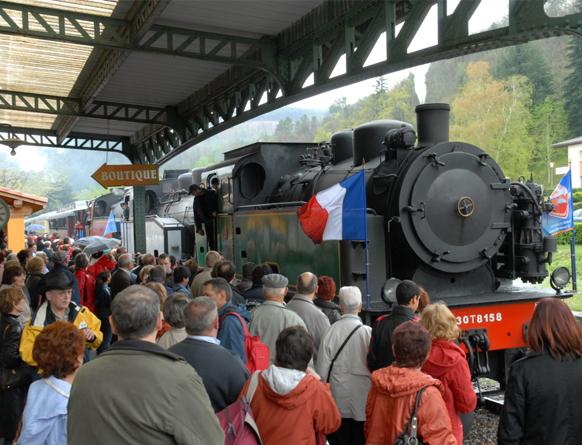 Train À Vapeur Des Cévennes 04
