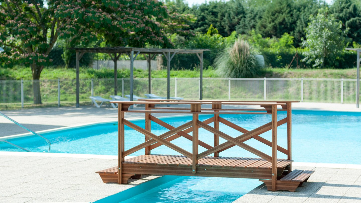 camping guard piscine