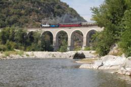 Train à vapeur des Cévennes mas des chenes